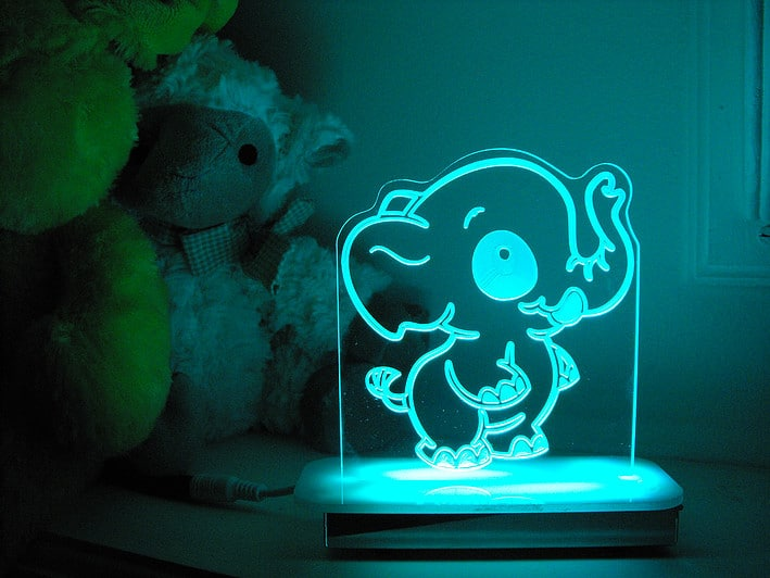 Ella Elephant Night Light Character Night Lights Comfy