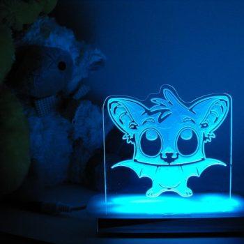 Nightwing Bat Night Light